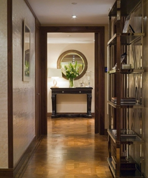 Casa Forma Luxury Interior Design Warm Lighting In Hallway