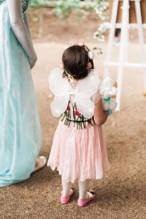 Casa Forma Design Childs Pink Fairy Party Dress