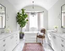 Casa Forma Luxury Interior Design Bathroom Plant