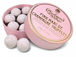 Casa Forma Luxury Interior Design Charbonnel & Walker Pink Marc De Champagne Truffles