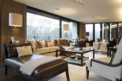 Casa Forma Luxury Interior Design Living Area One Hyde Park Apartment