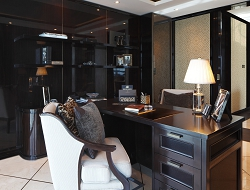 Casa Forma Luxury Interior Design Office Desk & Chair
