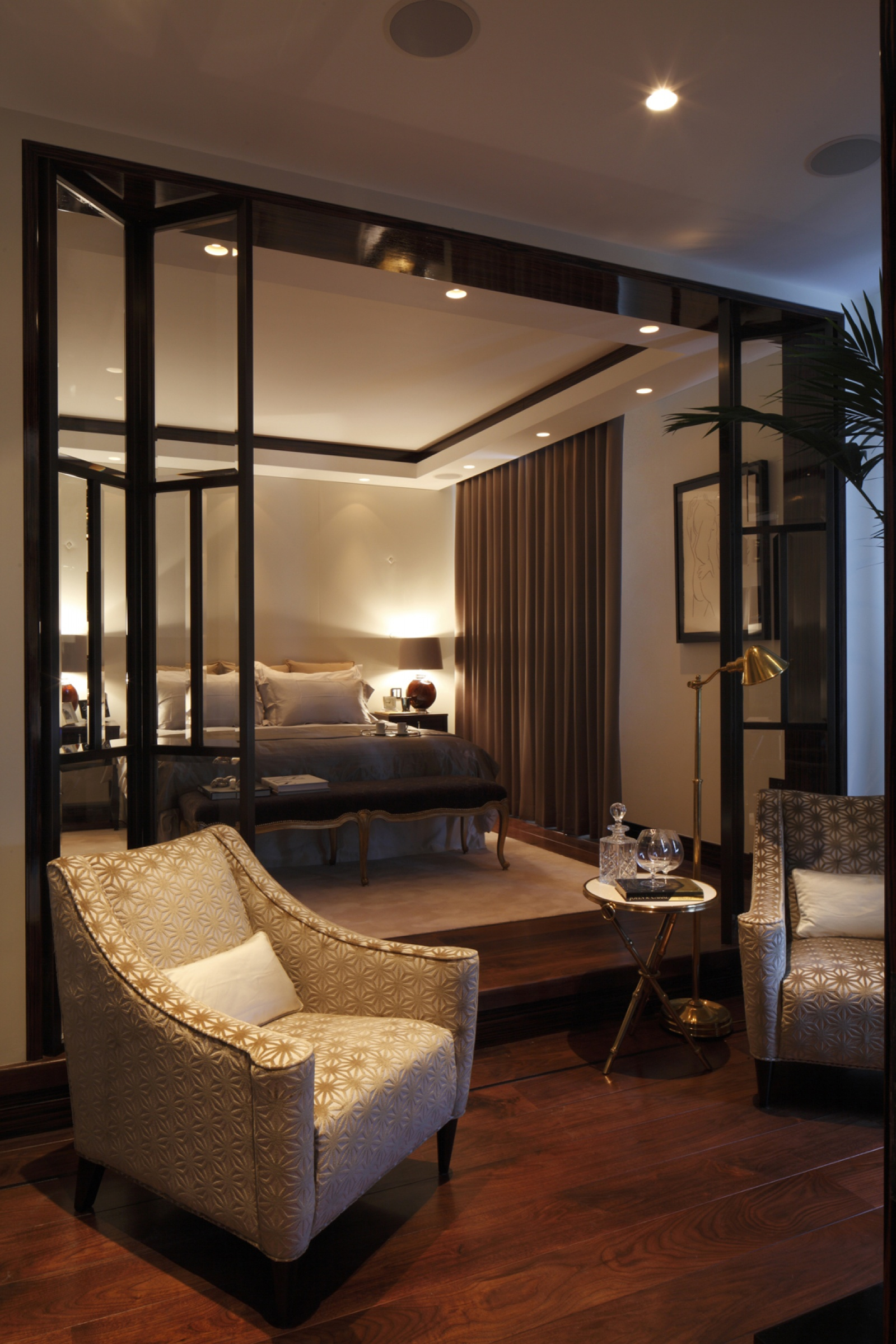master bedroom sitting room casa forma design portfolio davies mayfair 16126