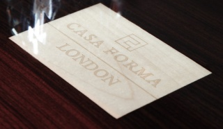 Casa Forma London Business Card & Logo Vault, Switzerland