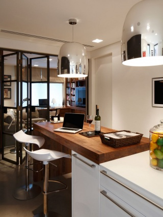 casa forma kensington place kitchen island and stools