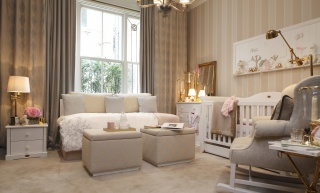 casa forma mayfair luxury nursery bedroom