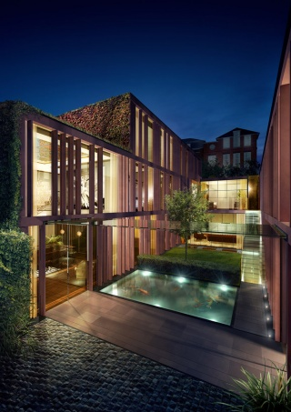 casa forma glebe place chelsea main building night view