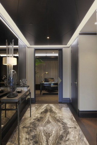 casa forma tower bridge luxury interior design hallway