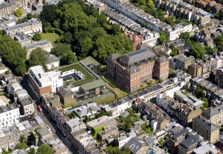 casa forma glebe place chelsea building aerial view