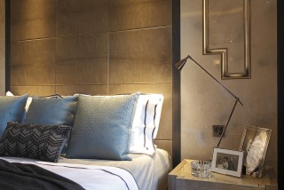 casa forma luxury interior design bedroom pillows