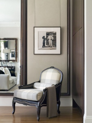 casa forma sheffield terrace kensington armchair and wall picture