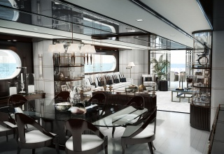 casa forma private yacht monaco luxury interior design