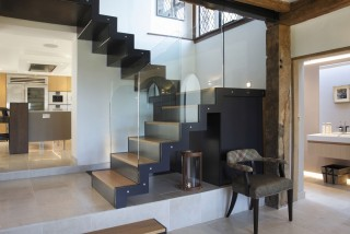 casa forma country mansion staircases