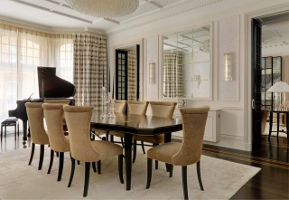 casa forma down street mayfair dining room table and chairs