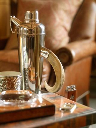 casa forma billingbear polo club coffee pot