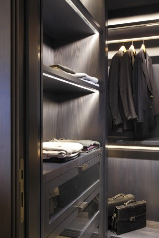 casa forma kensington residence luxury dressing room