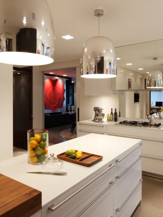 casa forma kensington place kitchen island and lighting