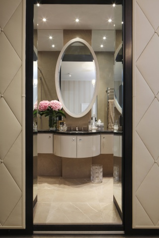 casa forma mayfair luxury nursery ensuite bathroom
