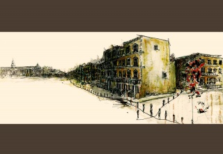casa forma glebe place chelsea artist sketch
