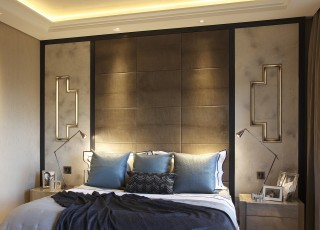 casa forma kensington residence master bedroom