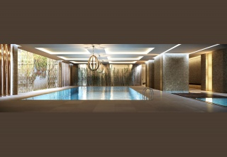 casa forma sloane house chelsea indoor lit swimming pool