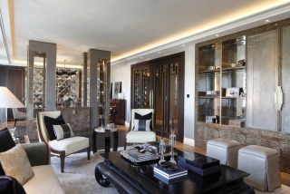 casa forma luxury interior design living room in kensington gardens london