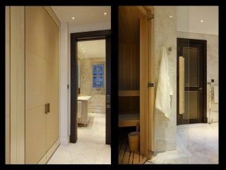 casa forma kensington residence luxury sauna